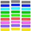 Stock Vector: Color buttons