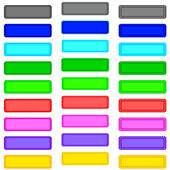 Color buttons — Stock Vector