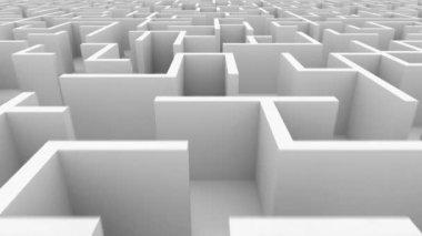 Endless maze — Stock Video