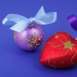 Stock Photo: Christmas decorations with bows