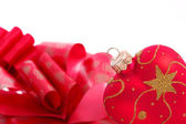 Heart shaped Christmas decoration — Stock Photo