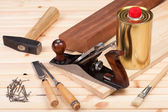Carpentry tools. — Stock Photo