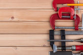 Woodworking tools. — Stock Photo