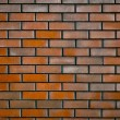 Wall of Dark Red Brick — Stock Photo