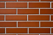 Wall of Red Brick — Stock Photo