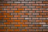 Wall of Dark Red Brick — Stock Photo