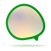 Abstract speech bubble background. + EPS8 — Stock Vector