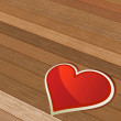 Royalty-Free Stock 矢量图片: Valentines Day background with heart.  + EPS8