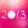 2013 Happy New Year background. + EPS8 — Imagen vectorial