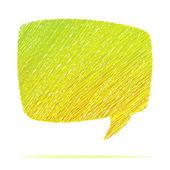 Abstract speech bubble. + EPS8 — Stock Vector