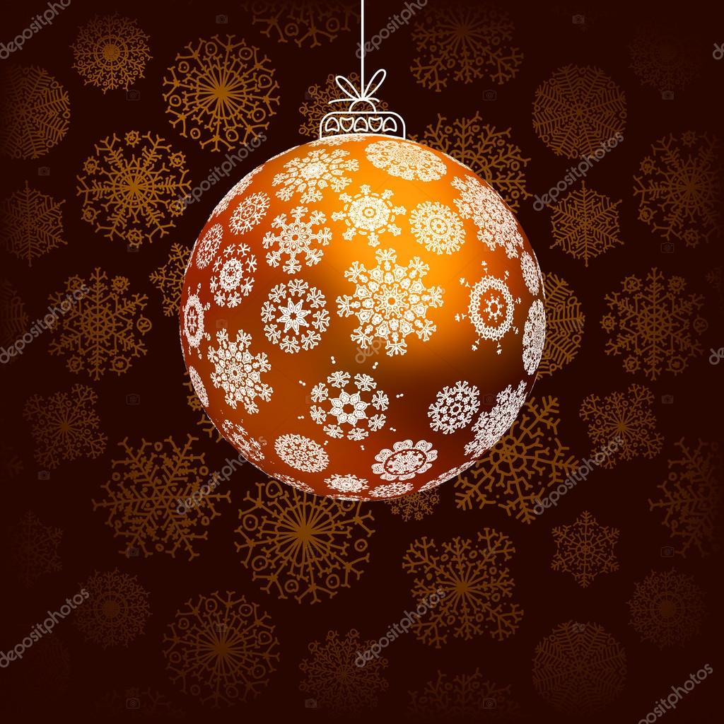Elegant christmas background.  + EPS8 vector file — Stock Vector #19211309