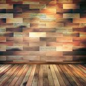 старый деревянный интерьер комнаты с полки. eps 10 — Cтоковый вектор