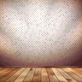Nice wooden floor background. EPS 10 — Stock Vector