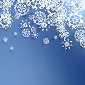 Decorative christmas background. — Stock Vector