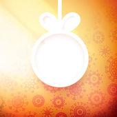 Appliques de Noël fond. + Eps10 — Vecteur