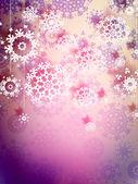 Copos de nieve de alta definición. eps 10 — Vector de stock