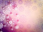 Sněhové vločky s vysokým rozlišením. EPS 10 — Stock vektor