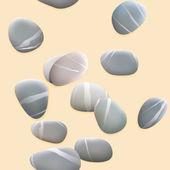 Seamless pebbles on sand. plus EPS10 — Stok Vektör