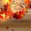 Autumn Sale background with copyspace. plus EPS10 — Stock Vector #51223181