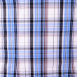 Blue and white checkered fabric, background, texture — Stock Photo #30938139