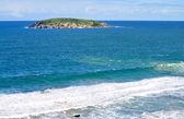 Little Island in the ocean. Beautiful Coastline in Australia — Stock Photo