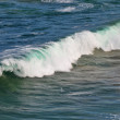 Ocean waves at the Australian shore. Closeup view of the shoreline. Seascape at South Australia. — Stock Photo