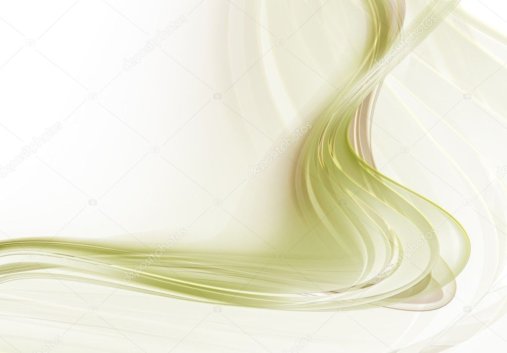 Gold abstract lines on white background — Stock Photo #15832361