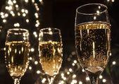 Champagne flöjter — Stockfoto