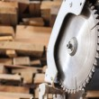 Compound Mitre Saw - Stock Photo