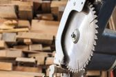 Compound Mitre Saw — Stock Photo