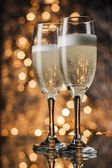 Flutes of champagne — Stockfoto