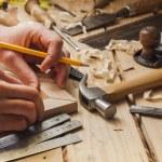 Carpenter working — Stock Photo #22367539