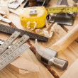 Carpenter tools — Stock Photo #22367699