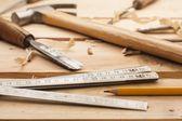 Carpenter tools — Stock Photo