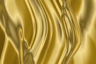 Golden background.NTSC. — Stock Video