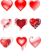 Hearts. — Stock Vector