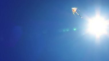 High flying kite. — Stock Video
