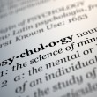 Psychology. — Stock Photo