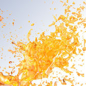 Juice splash. — Stock Photo