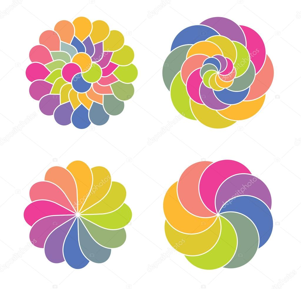 Abstract color circles — Stock Vector #12729452