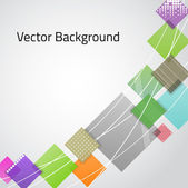 Abstract Vector Background — ストックベクタ