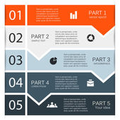 Template for your business presentation — Vecteur
