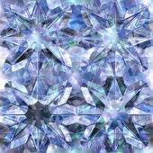 Seamless crystal texture — Stock Photo