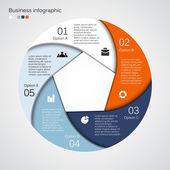 современные векторной графики информация для бизнес-проекта — Cтоковый вектор