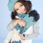 Little Winter Girl — Stock Photo #16021427