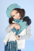 Little Winter Girl — Foto Stock