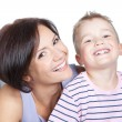 Picture of happy mother and little son — Stock Photo #16778175