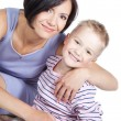 Picture of happy mother and little son — Stock Photo #16778187
