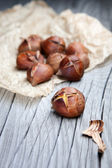 Roasted chestnuts — Stock Photo