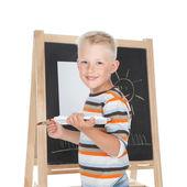 Malý školák — Stock fotografie